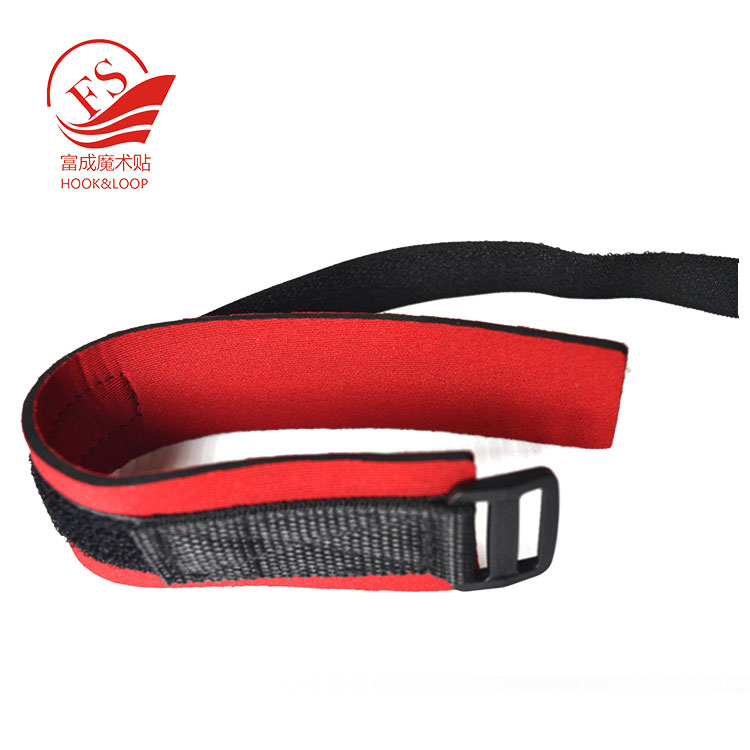 Adjustable soft ankle timing tag straps for chip timing