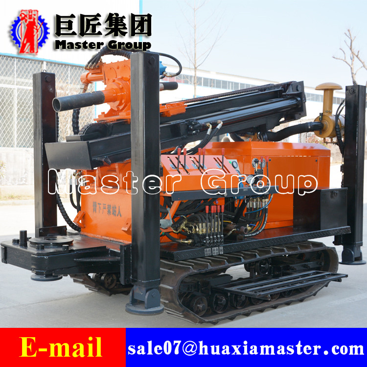 FY150 crawler type pneumatic drilling rig
