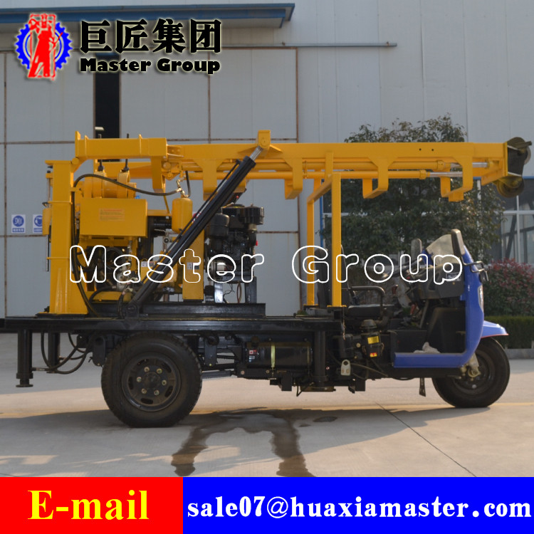 XYC-200A Tricycle-Mounted Hydraulic Rotary Drilling Rig