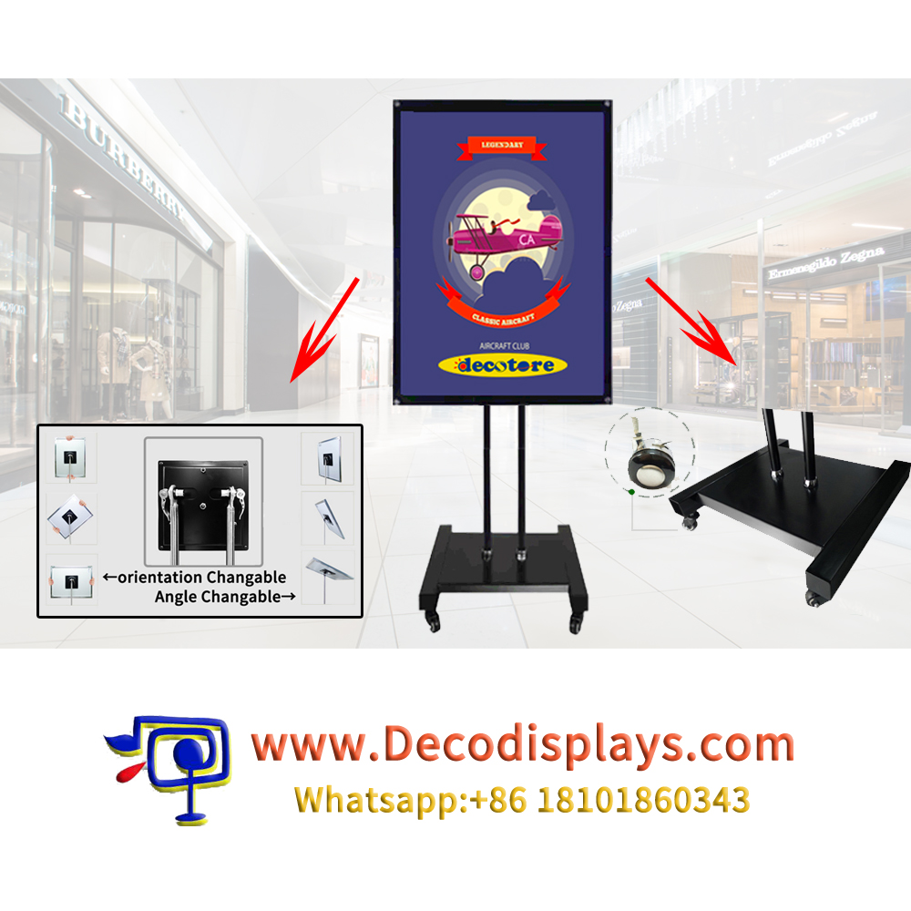 Deostore Sign Stand Poster Stand Floor Stand