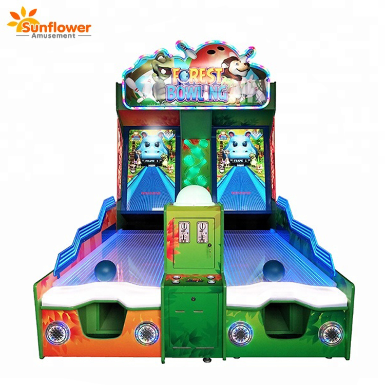 32 inch HD LCD arcade bowling machine,bowling game for kids