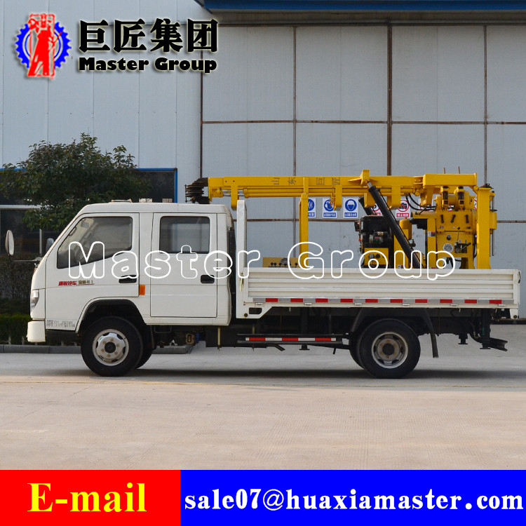XYC-200 Vehicle-mounted Hydraulic Rotary Drilling Rig