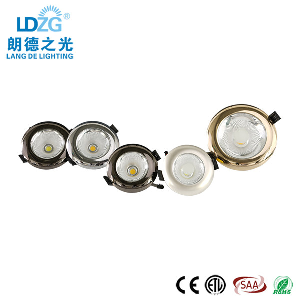 Cheap Hot Sale 15W Cut Out 80Mm COB Up And Down Light Recessed LED Downlight