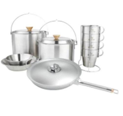 China cheapest top selling high quality Stainless steel the pots and pans in life manufacture