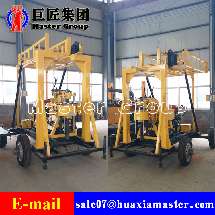XYX-200 Wheeled Water Well Drilling Rig