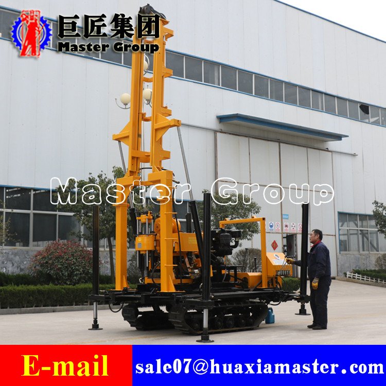 XYD-200 Crawler Water Well Drilling Rig