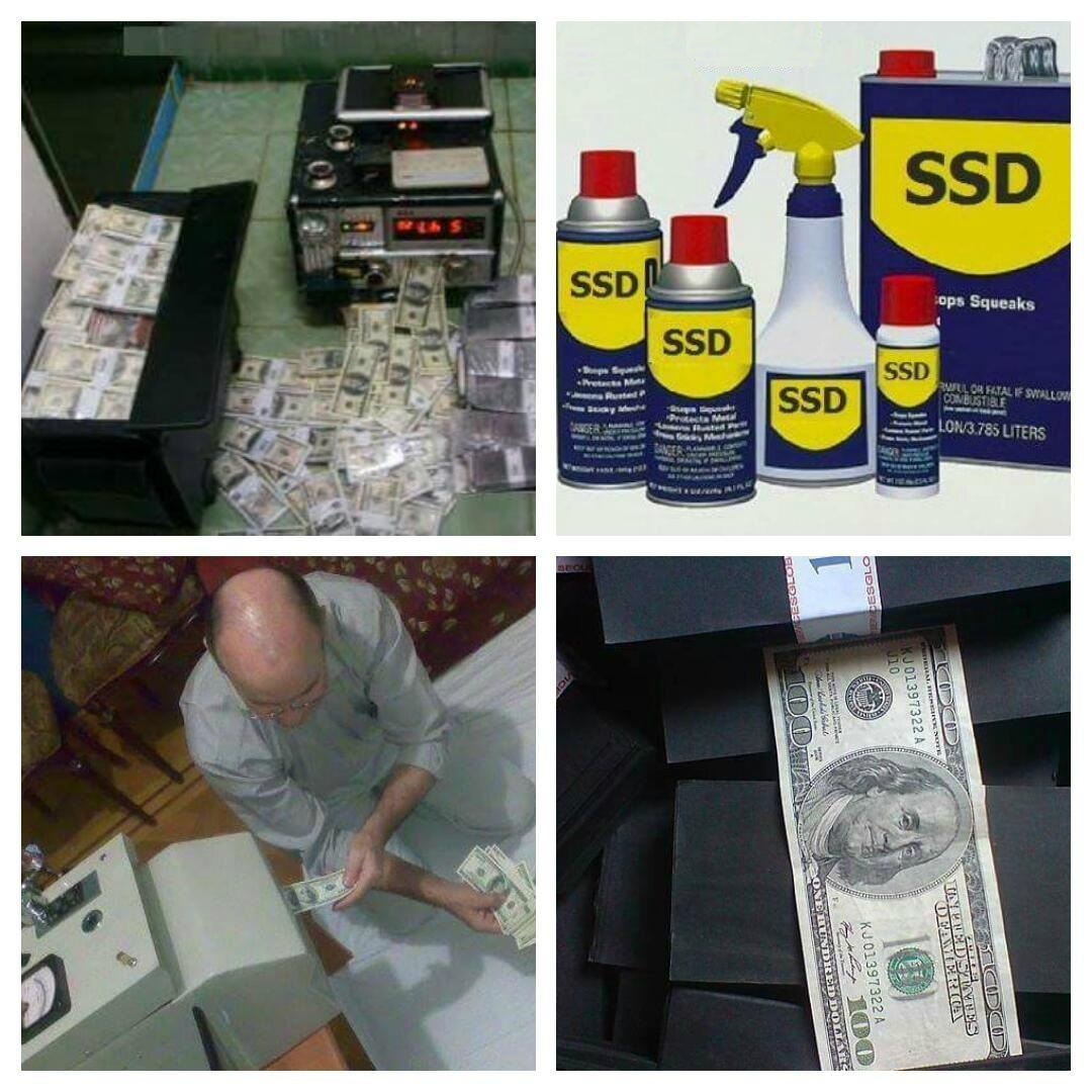 SSD Solution For Cleaning Defaced Banknotes