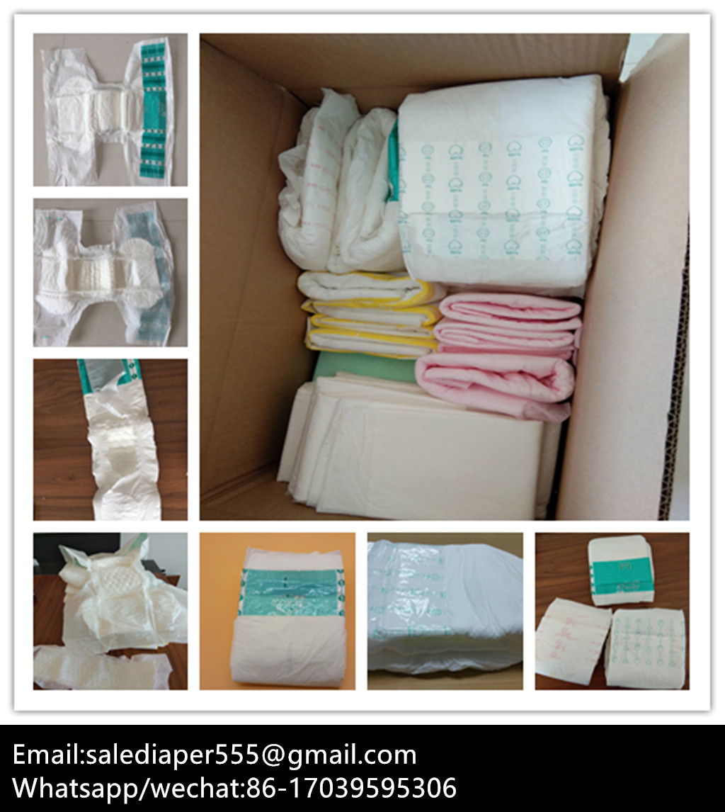 OEM Factory Wholesale Disposable Adult Diapers