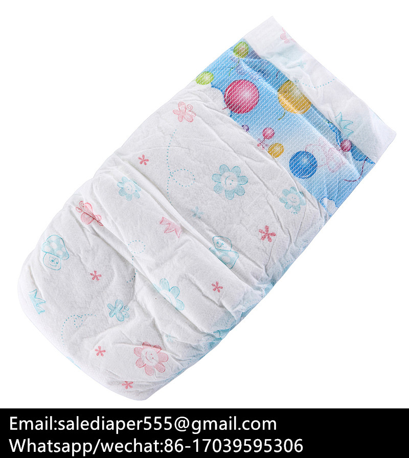 Provided factory economic B grade baby diapers
