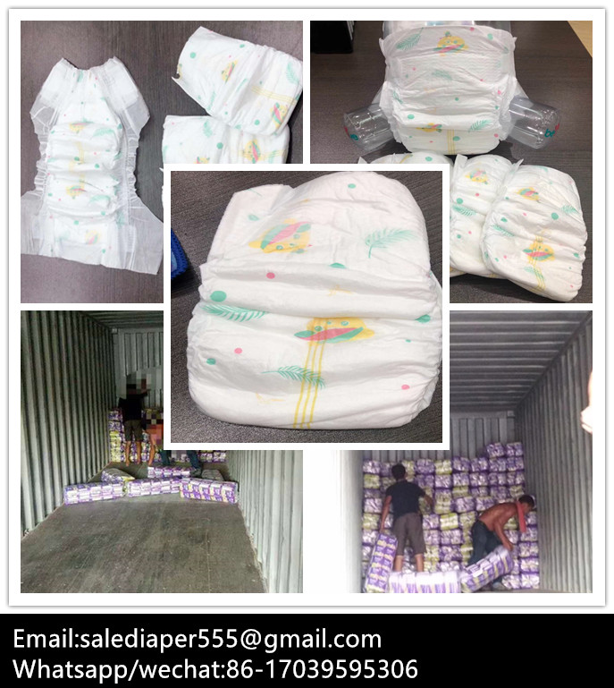 Fast selling! B grade baby diaper in good quality