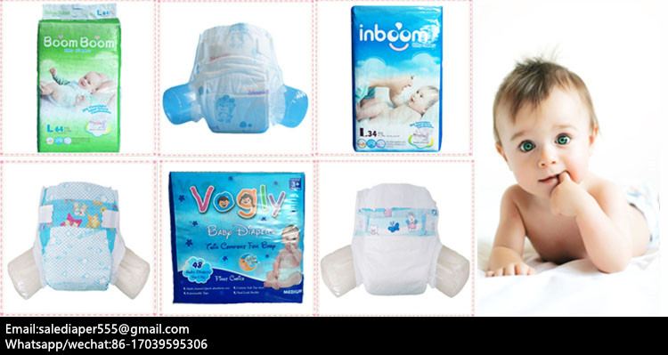OEM Soft Breathable Disposable Baby Diapers