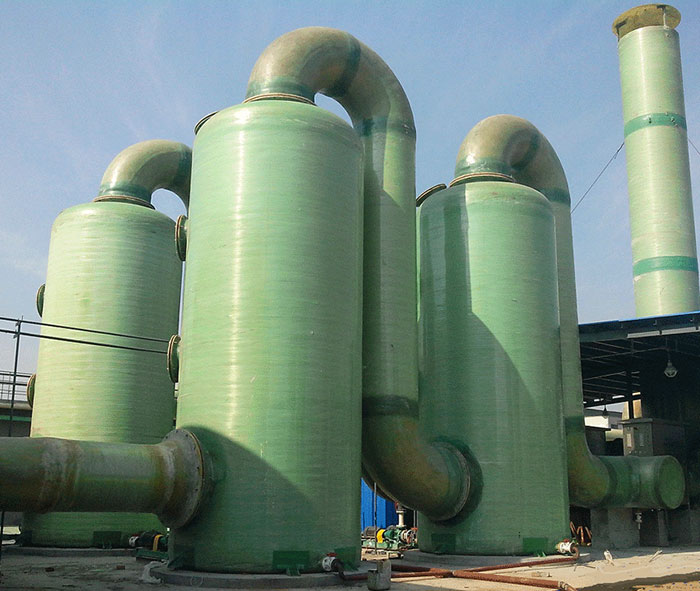 High Quality Easy Operate Fiberglass Desulfurization Tower