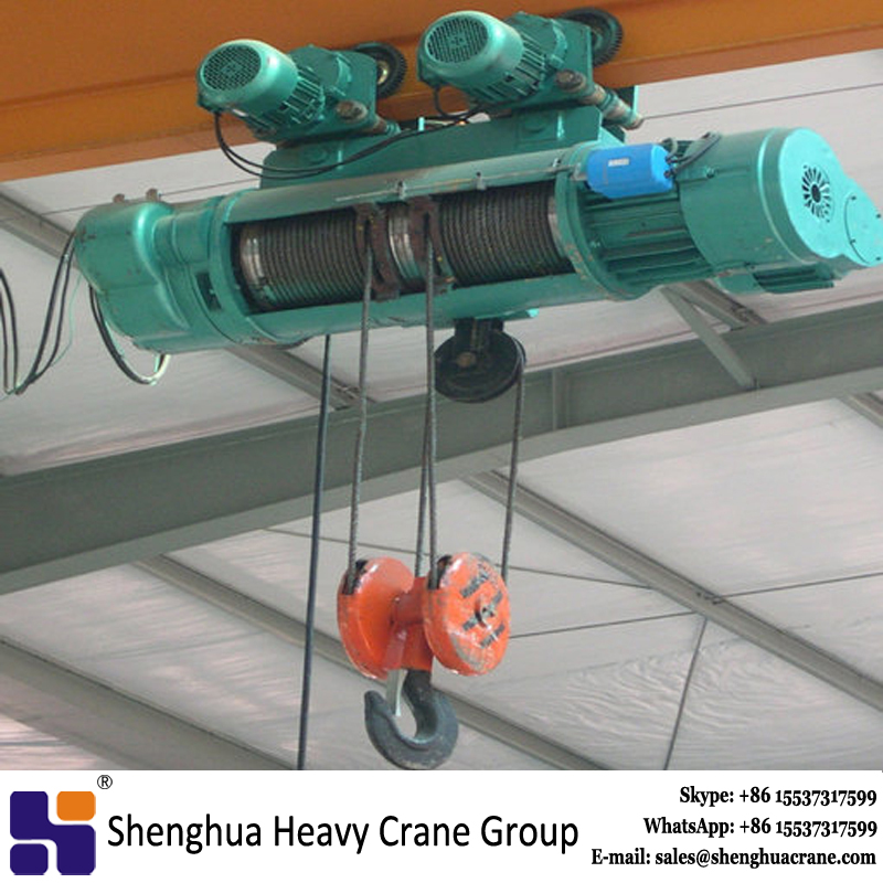 China famous brand cd md type 2 ton small lift electric hoist 110v