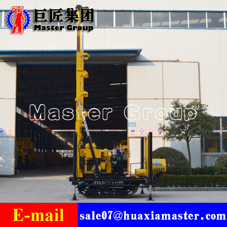Protect the surface of road XYD-130 Crawler Well Drilling Rig for water well