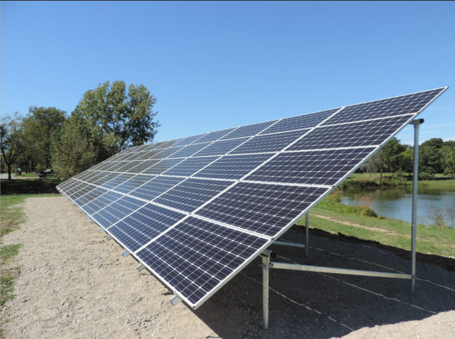 Solar Ground Mounted  Power System in Excellent Quality
