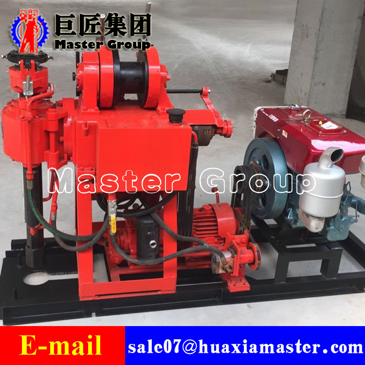 XY-180 Hydraulic Core Drilling Rig core drilling rig for hard rock