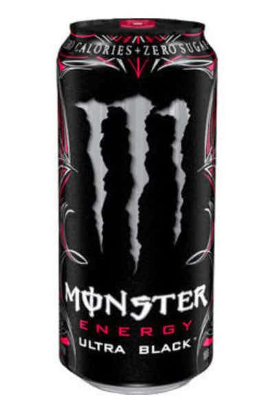 Monster Ultra Black Energy Drinks