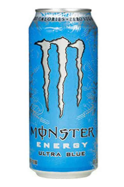 Monster Energy Ultra Blue Energy Drinks