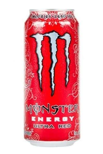 Monster Energy Ultra Red Energy Drinks