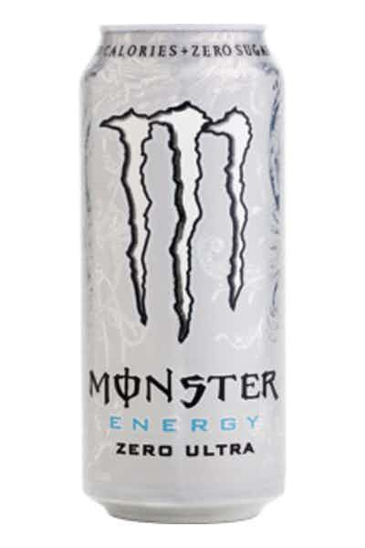 Monster Energy Ultra Zero Energy Drinks