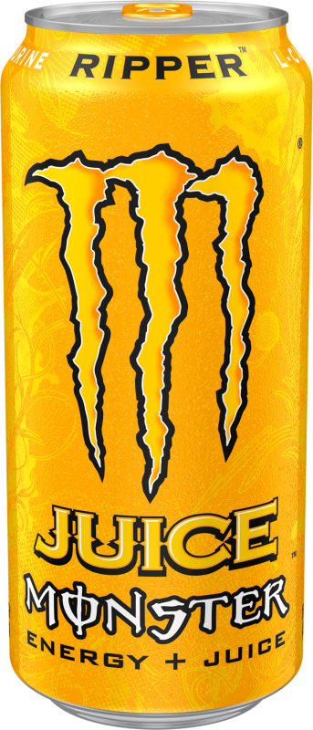 Monster Juice Ripper Energy+Juice Energy Drinks