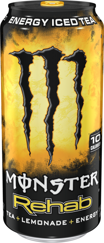 Monster Rehab Tea+Lemonade+Energy Energy Drinks