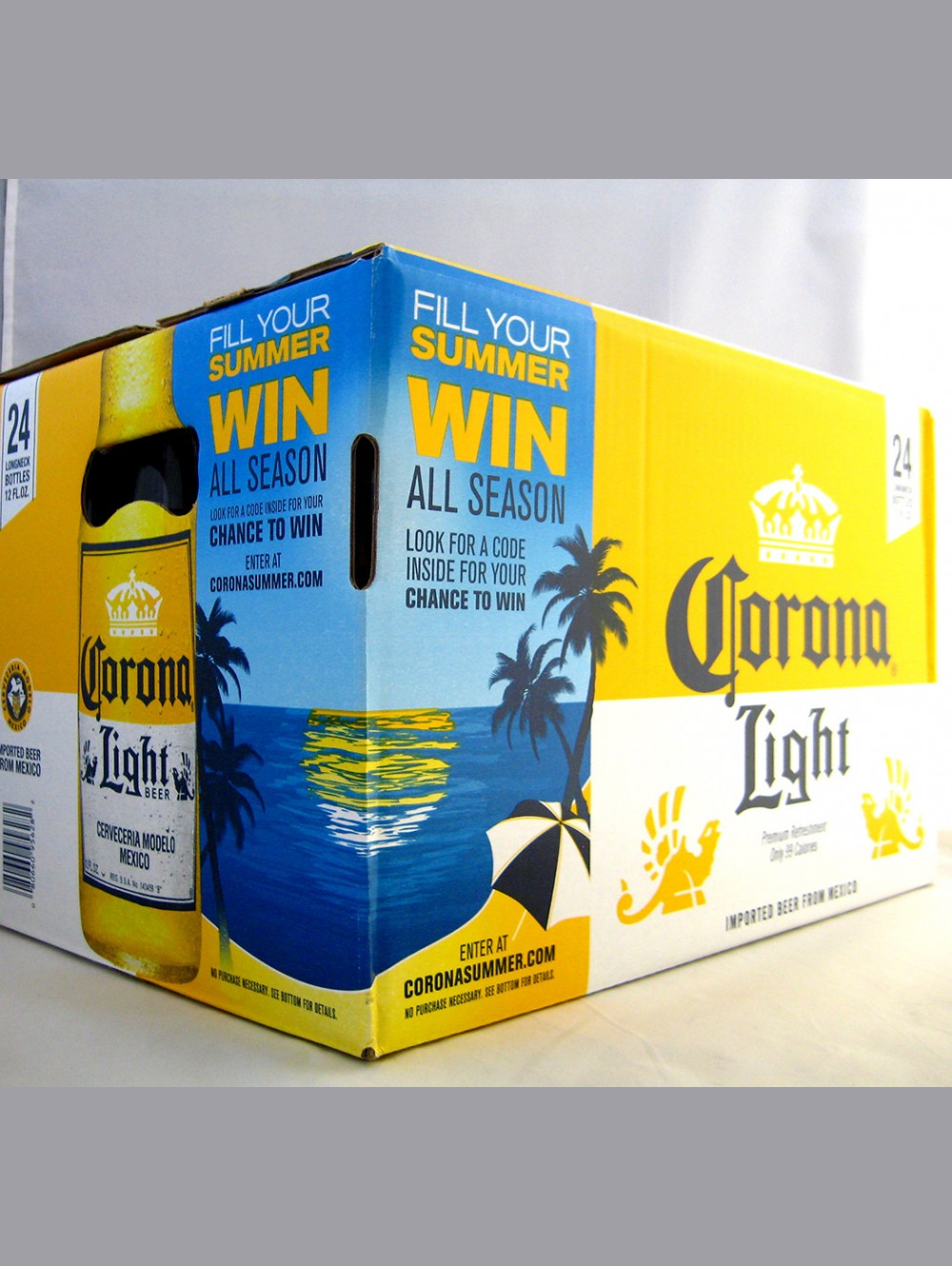 CORONA EXTRA LIGHT LAGER BEER