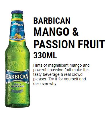 Rani Barbican Mango Passion Fruit Flavor Drink