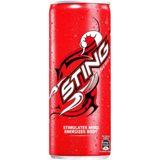 Sting Energy Drink Can 250 ml