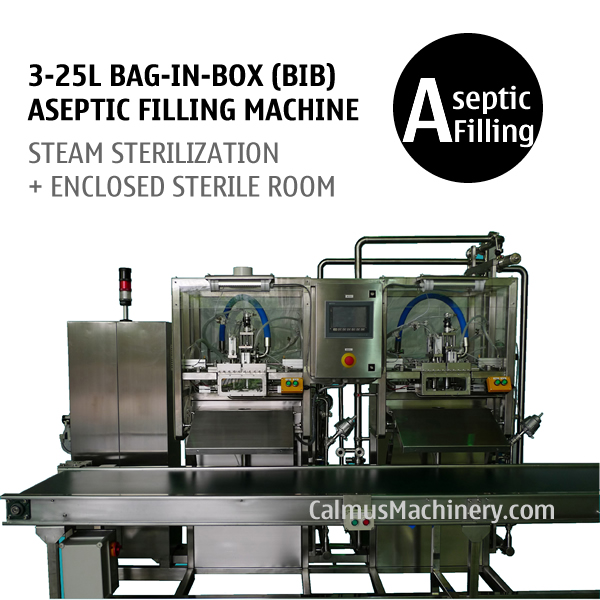 Double-head Bag in Box Aseptic Filling Machine Sterile Products BIB Aseptic Filler