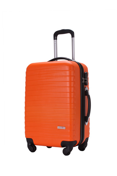 New fashionable Hard shell light weight ABS and PC trolley suitcase 20 travel luggage with diamond