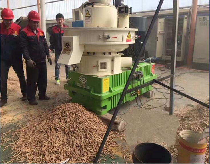 High efficient and good price wood pellet machine is hot sale