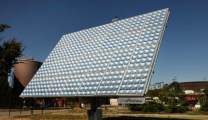 Concentrated Photovoltaic(CPV)Solar Modules with High Efficiency
