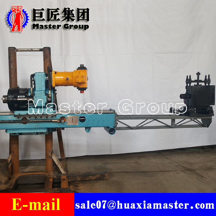 KY-6075 Full Hydraulic Wire Rope Coring Drilling Rig  For Metal Mine