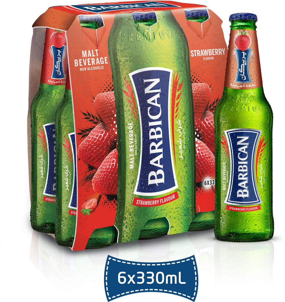 BUY Barbican Strawberry, Malt Beverage, 6x330 ml
