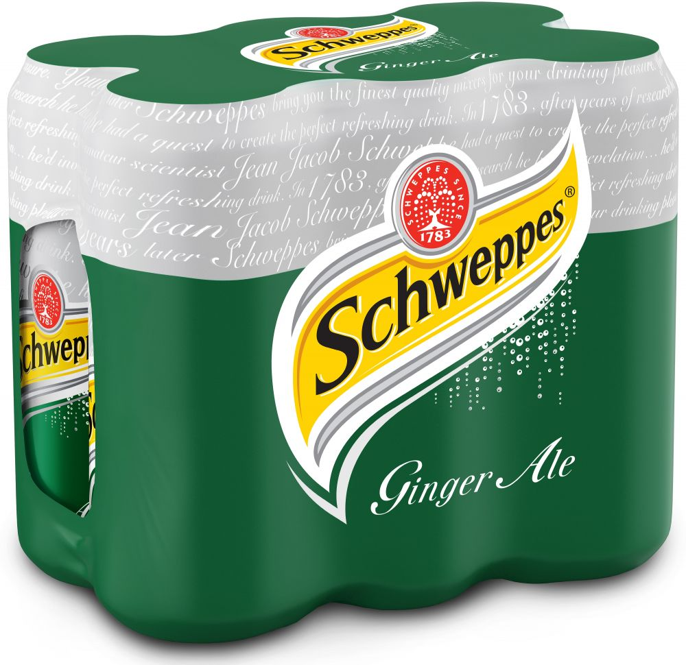 BUY Schweppes Ginger Ale 6X330ML