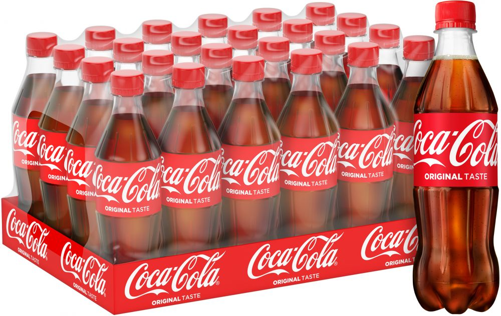 Buy Coca-Cola Regular 24 X 500ML