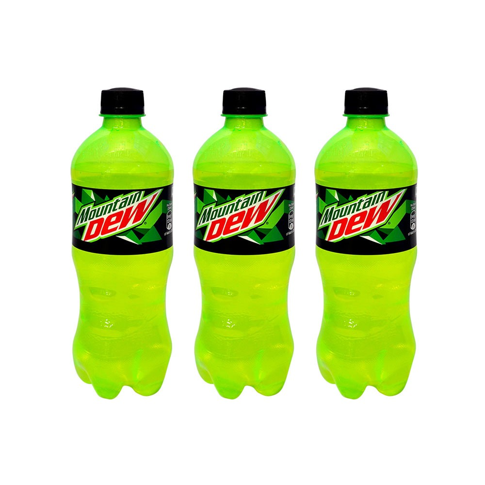 BUY Mountain Dew Grip Soft Drink (Bottle) - Pack of 3
