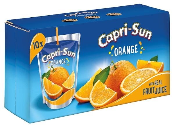 Buy Capri-Sun Orange Juice 200ml - Pack of 10