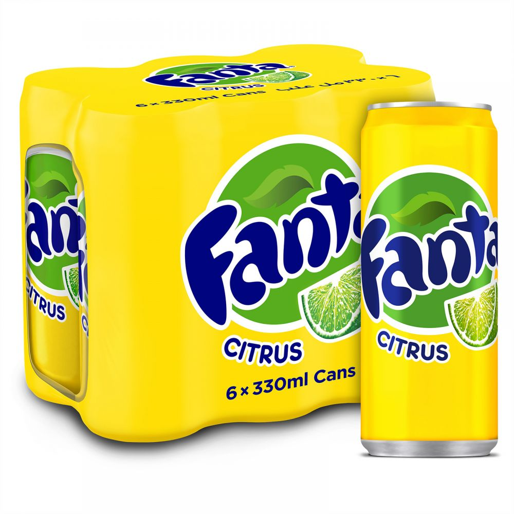 Buy Fanta Citrus Drinks 6 X 330ML