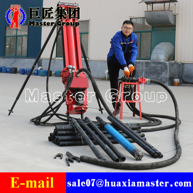 KQZ-100 Full Pneumatic DTH Drilling Rig