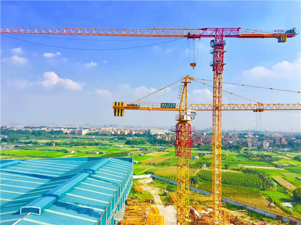 QTP315(TCT7530) Topless tower crane  Max load 16t or 20t  Maxjib length 75m