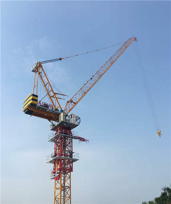 High Efficiency QTD260(TCR5531) Luffing tower crane Maxload 12t or 16t or 18t