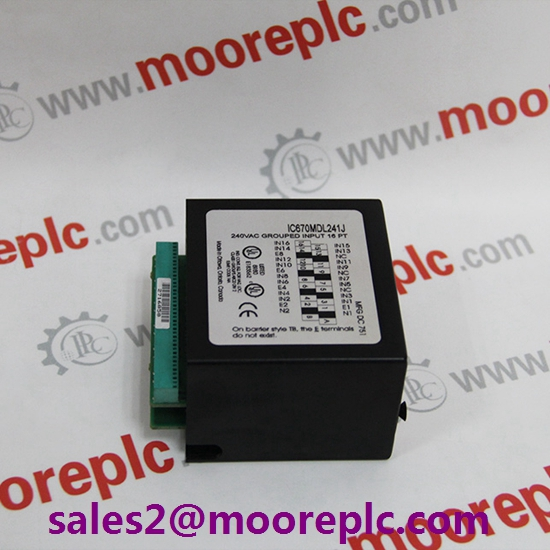 GE IC670PBI001 in stock