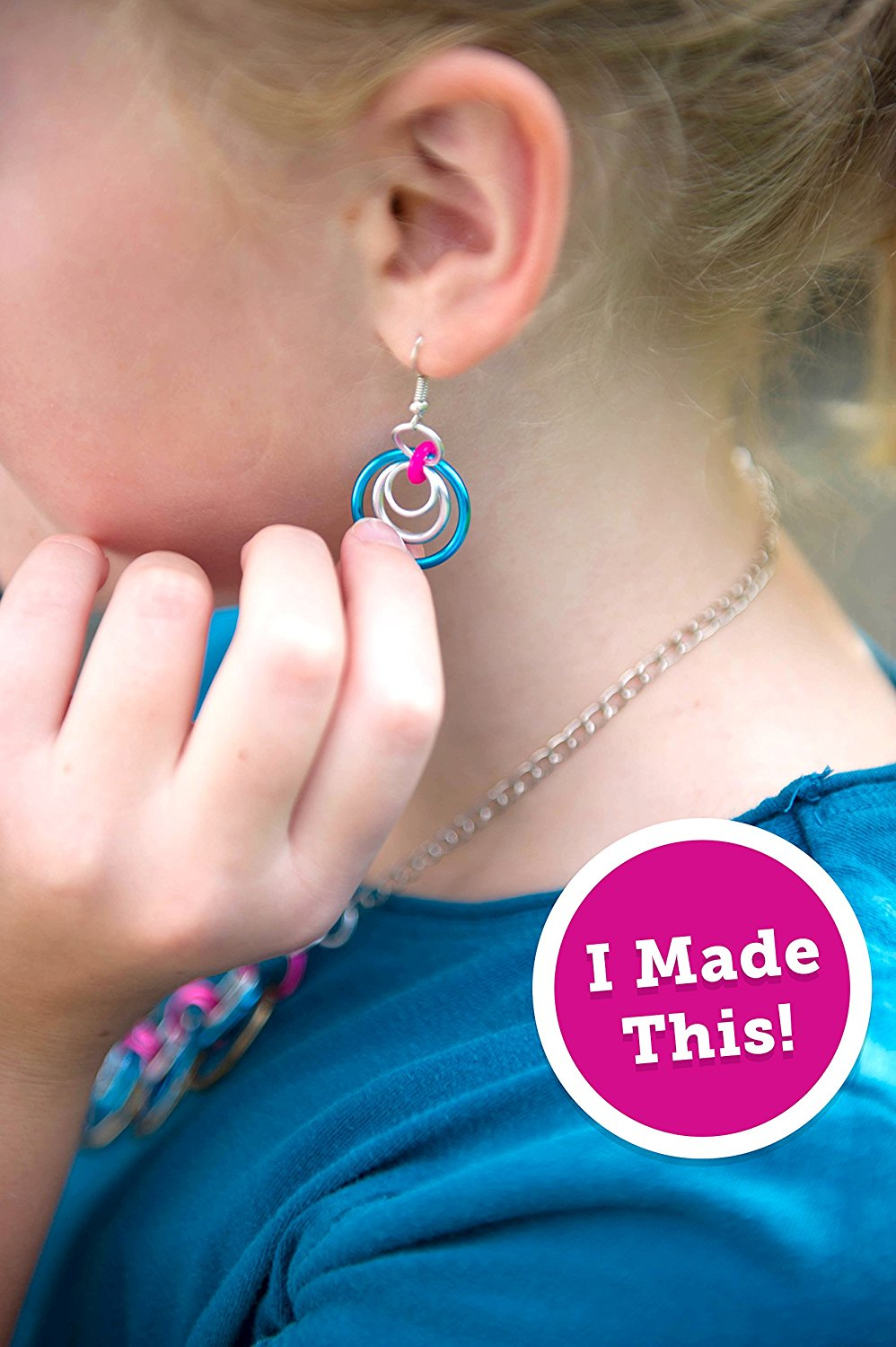 DIY Kids Craft Make Your Own Chainmaiile Jewelleries