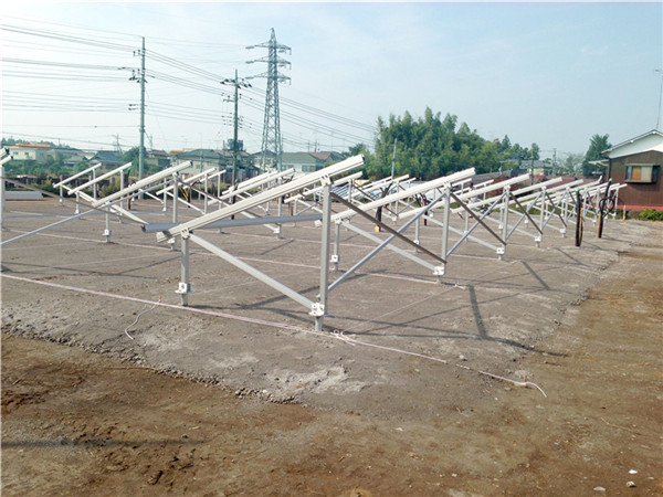 China supplier aluminum commercial solar pv ground systems