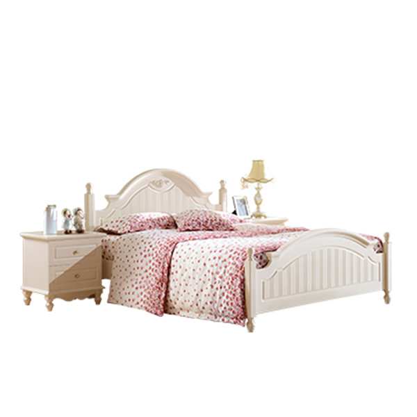 901 romatic bedroom furniture set princess girl double bed