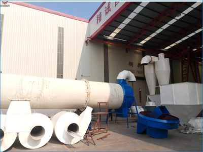 High Efficient Wood Chips Rotary Dryer for Sale