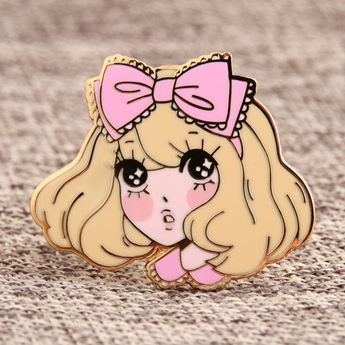 Sweetheart Girl Custom Pins