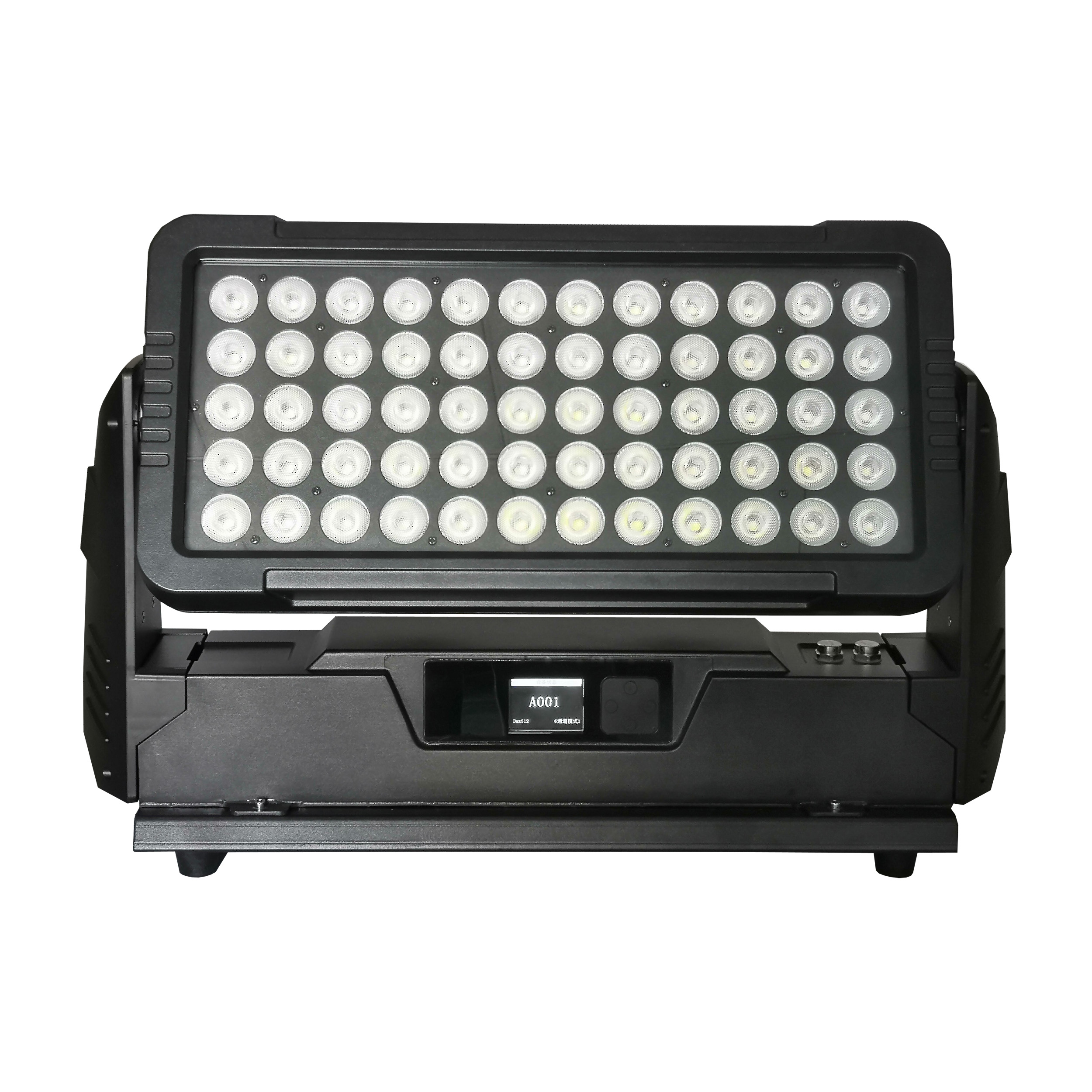 60x10w rgbw 4in1 led wall washer wash light